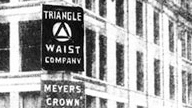 Triangle Waist Company sign