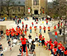 Big Red Marching Band plays 'Crazy in Love'