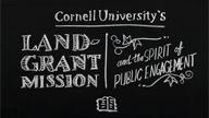 Cornell's Land-Grant Mission