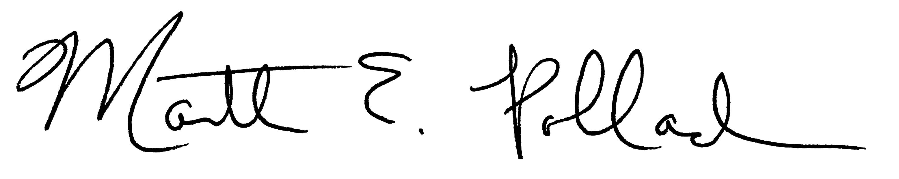 Martha Pollack Signature