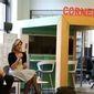 Arianna Huffington Visits Cornell Tech