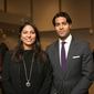 Dean's Distinguished Lecture Series student blog: Alyshia '09 and Omar, A&S '08 Mangalji