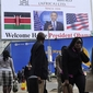 Kenyans Say to Obama, Welcome Home