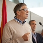 Philanthropist Bill Gates helps dedicate CIS's Gates Hall
