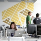 Alumni Collaborate In Cornell Tech Co-working Space