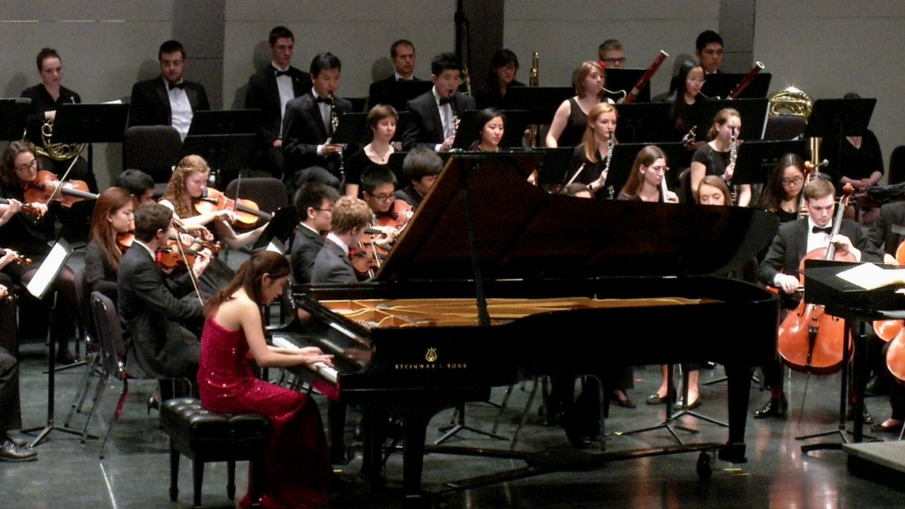 symphony orchestra with conductor kisun sung  3  12  16