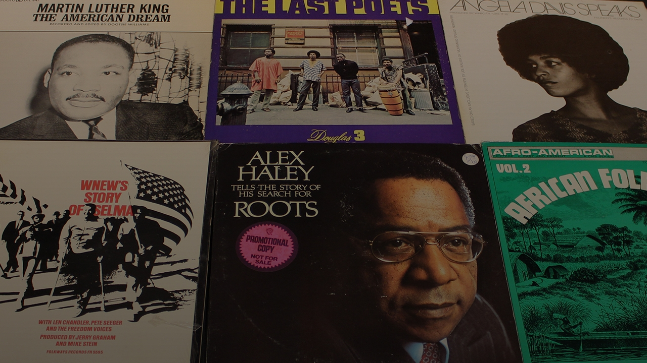 20th century African-American history, on vinyl