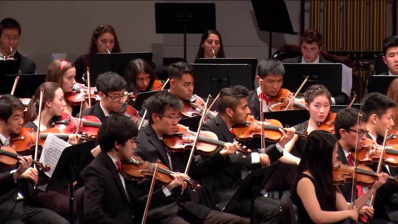 Symphony orchestra and chamber orchestra in concert for Chambre orchestra