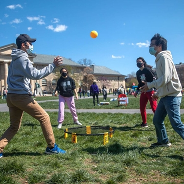 Occurring over the university's wellness days, Big Red Pride Days provided a chance for students to relax and partake in various community events.
