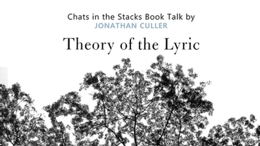 book cover for Theory of the Lyric