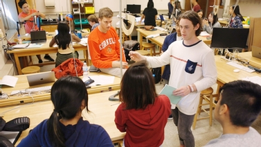 Inquiry-based labs give physics students experimental edge