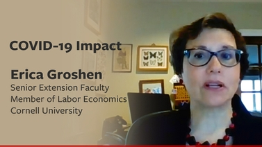 COVID-19 impact: Erica Groshen on the post-pandemic labor market