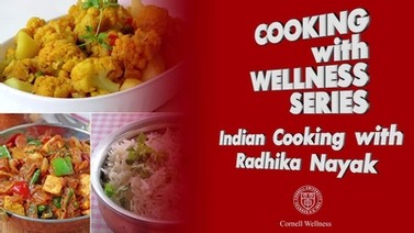 title slide reads 'Cooking with Wellness series'
