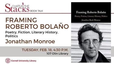 Framing Roberto Bolano book cover