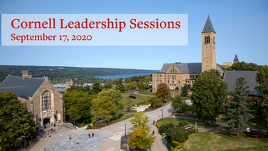 Leadership Sessions, Sept. 17, 2020
