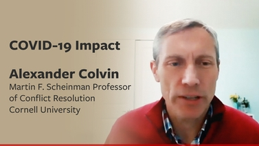 COVID-19 impact: Alex Colvin on the labor force