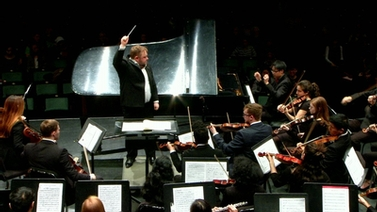 Robert Boardman leads the Cornell Symphony Orchestra