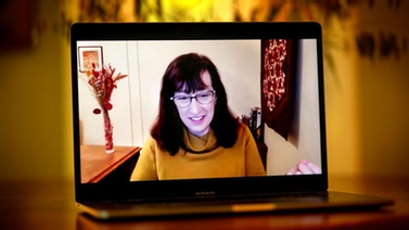 President Martha E. Pollack delivers her fourth annual address to staff via Zoom.
