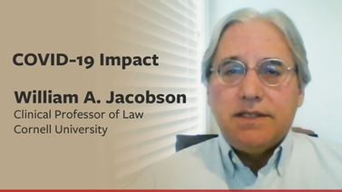 COVID-19 impact: William Jacobson on the securities market