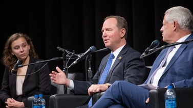 Adam Schiff and panel