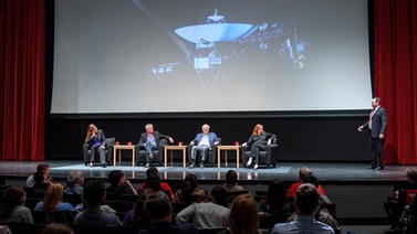 Voyager celebration panelists