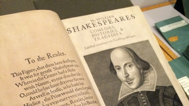 Shakespeare's four folios at Cornell University Library