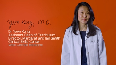 We Are Weill Cornell Medicine - Dr. Yoon Kang