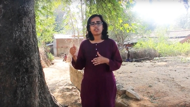 TCI researcher Shiuli Vanaja in India