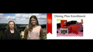 Cornell representatives present information on dining enrollment