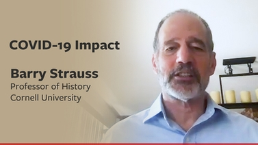 COVID-19 impact: Barry Strauss on the historical perspective