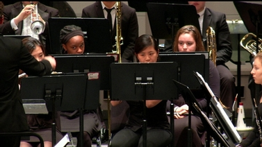 members of the Wind Symphony