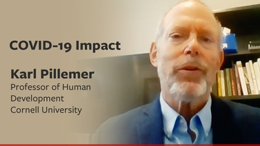 COVID-19 impact: Karl Pillemer on elder care
