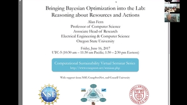 Alan Fern, Bringing Bayesian Optimization into the lab: Reasoning about resources and actions