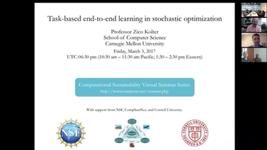 Lecture Slide for Zico Kolter Task-based end-to-end learning in stochastic optimization