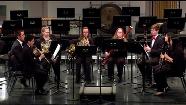 Ithaca High School wind ensemble