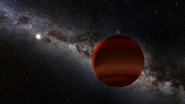 planet near a white dwarf star
