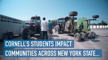 Cornell's students impact communities across New York State