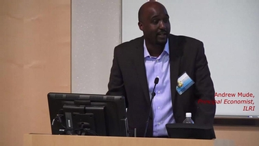 Andrew Mude at Mobile Money, Financial Inclusion, and Development in Africa Symposium