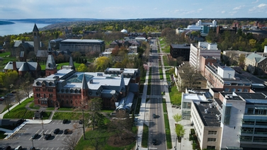 aerial view of Feeney Way