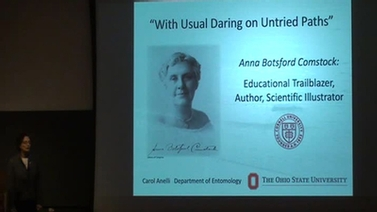 title slide, 'With Usual Daring on Untried Paths'