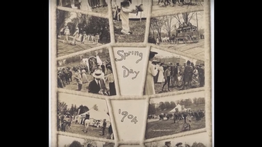 Spring Day 1904 collage