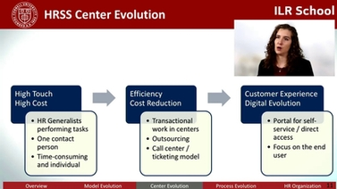 HR Shared Services (HRSS): Models and Trends - CornellCast