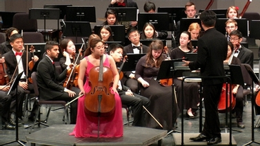 Symphony Orchestra on stage