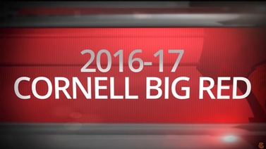 Title screen reads '2016-17 Cornell Big Red'