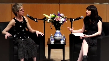Joanie Mackowski and Elisha Cohn in conversation