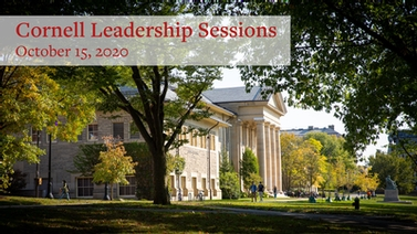 Leadership Sessions October 15, 2020