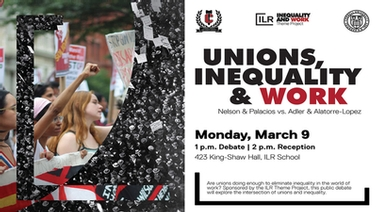 Unions, Inequality & Work