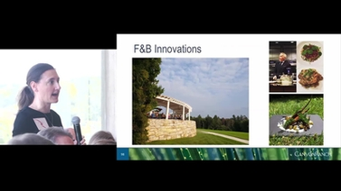 Mindi Morin presents F&B Innovations