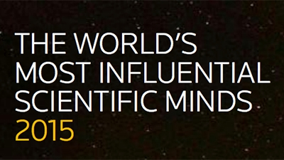 The World's Most Influential Scientific Minds 2015