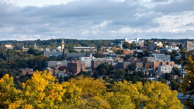 Cornell University in early October